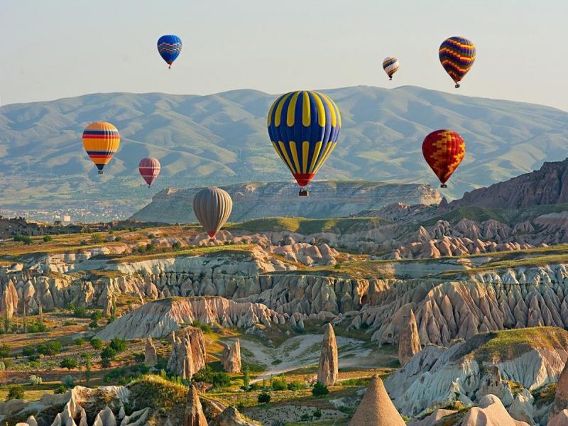 Полет с балон над Кападокия