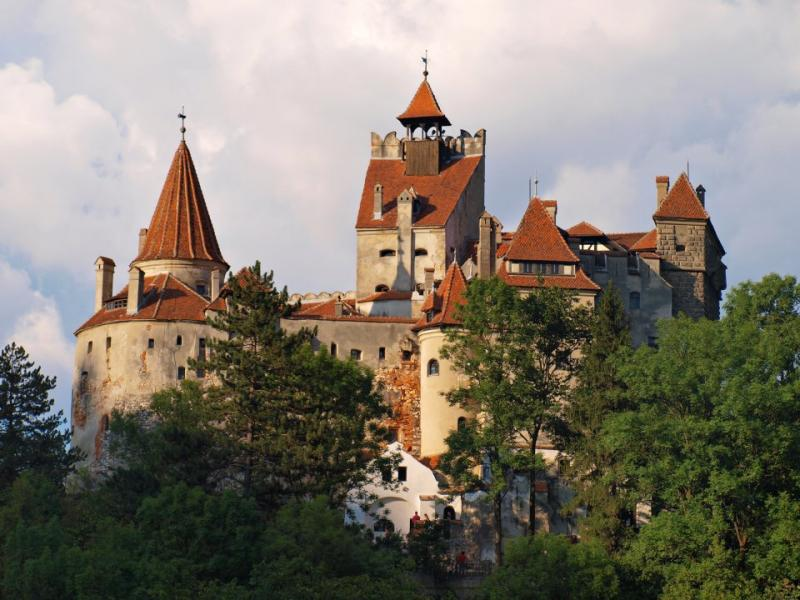 Посещение на замъка на Дракула в Бран