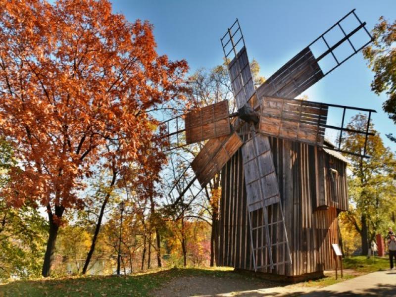 Посещение на музея на селото в Букурещ