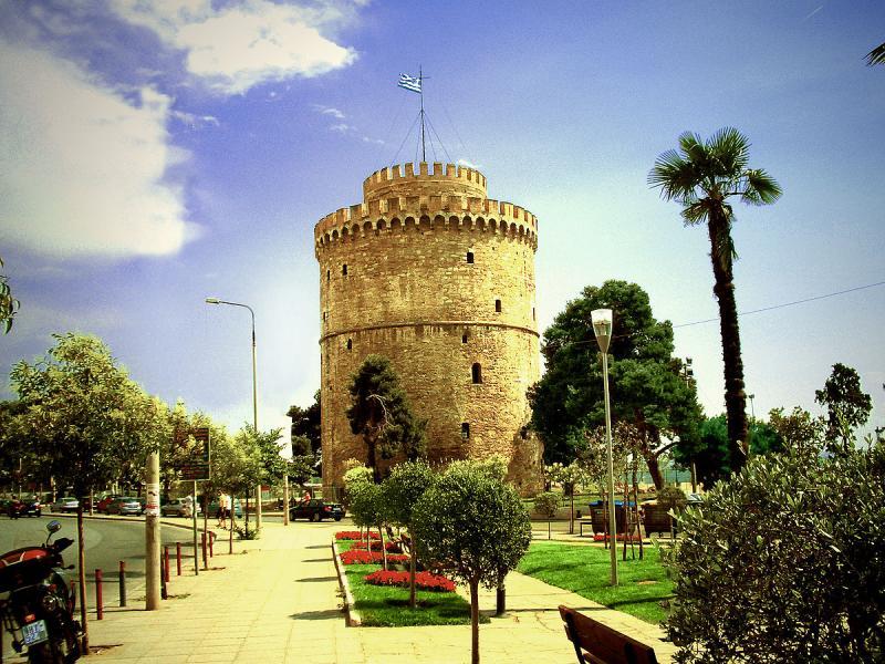 Посещение на Бялата кула в Солун