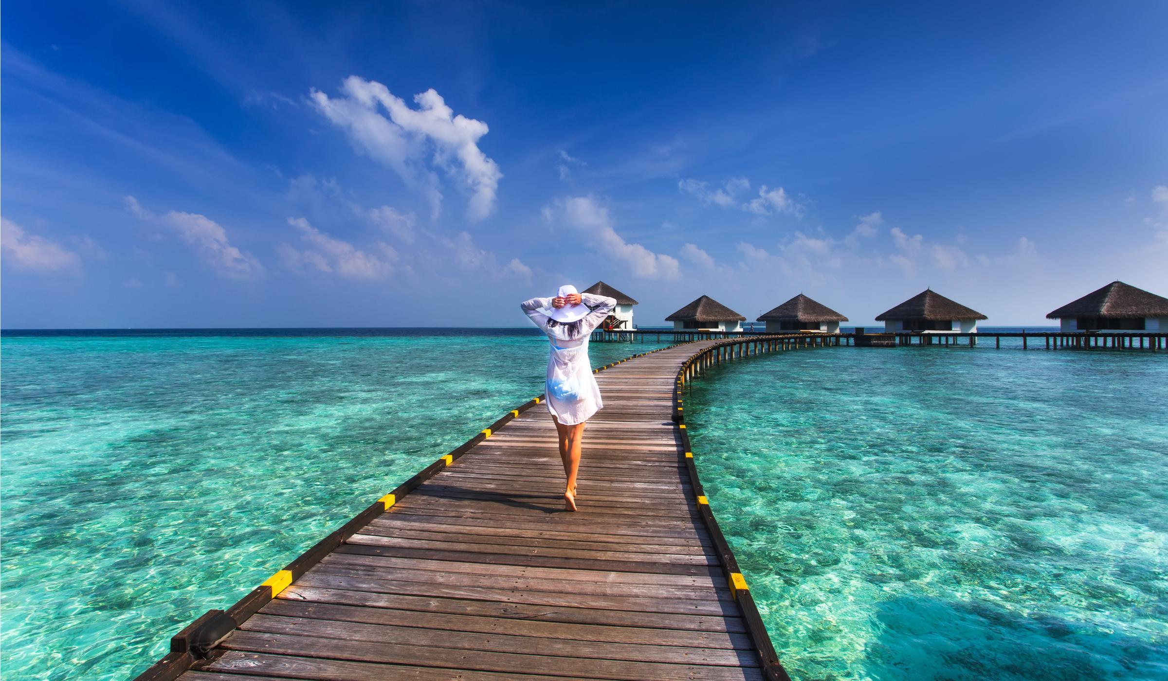 Малдивите — наниз от бляскави бисери