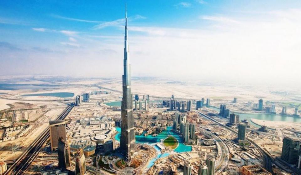 Бурж Халифа: Наблюдателна площадка At The Top