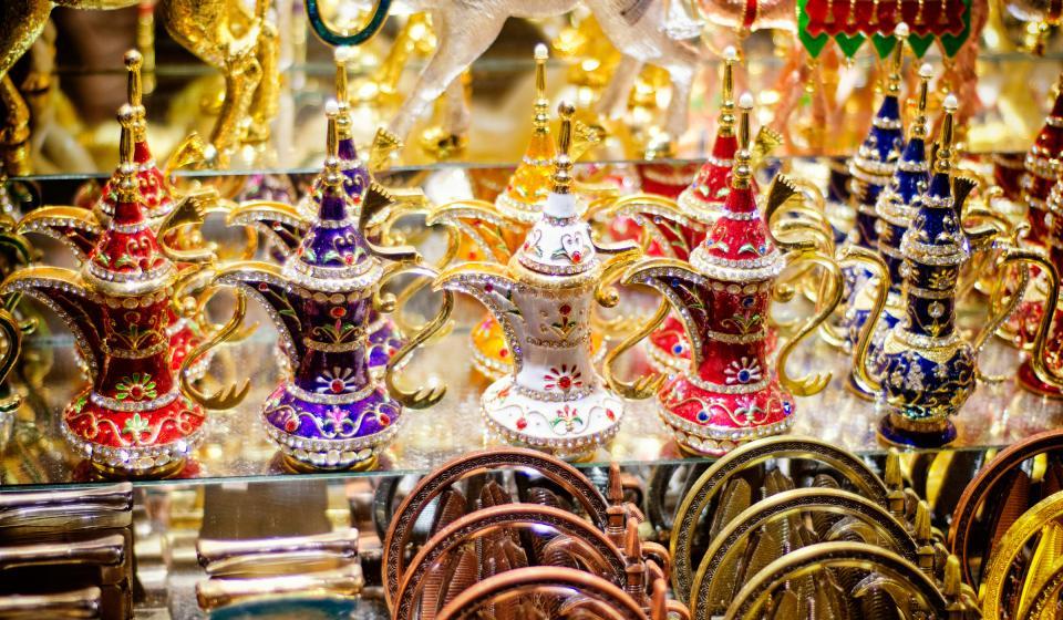 Очарованието на арабските пазари с включен обяд
