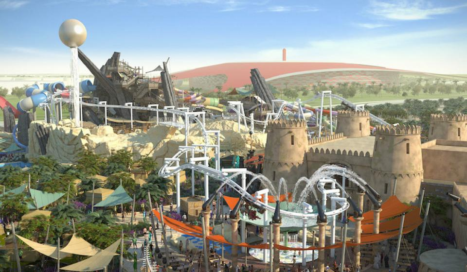 Комбо пакет: Ferrari World + Yas Waterworld в Абу Даби