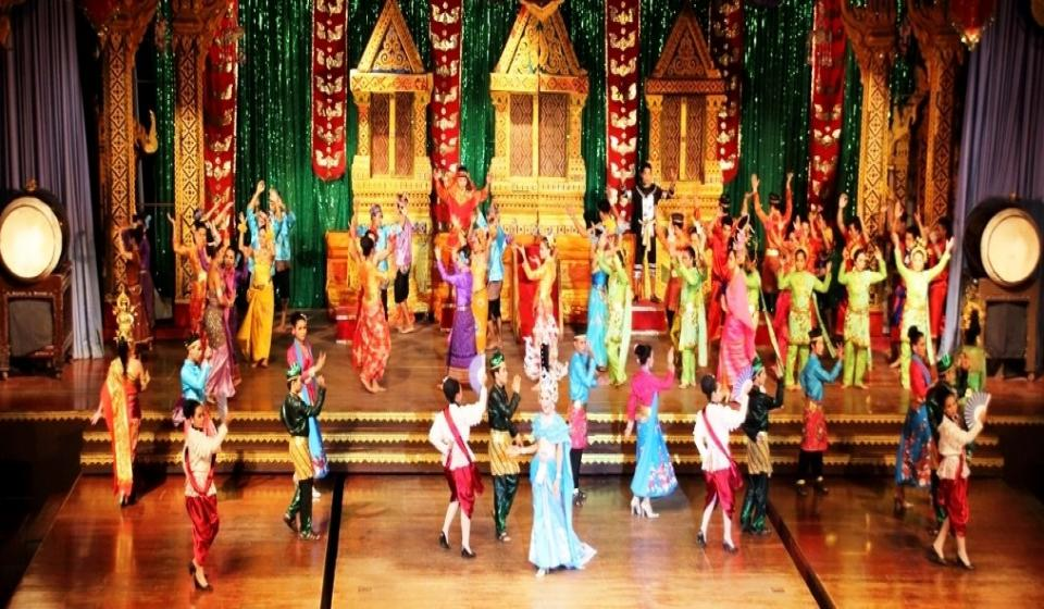 Phuket Fantasea Show с вечеря