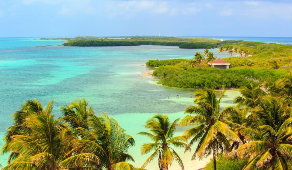 Островите Paradise Island и Isla Mujeres