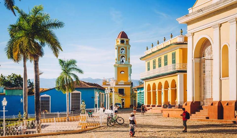 Трите града - Санта Клара,Тринидад, Сиенфуегос