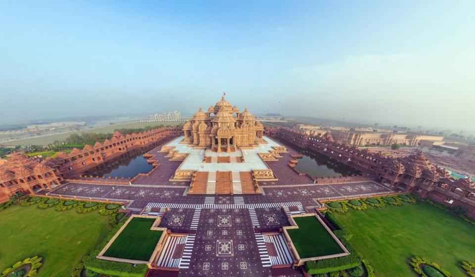 Обиколен тур на Новия град  Делхи