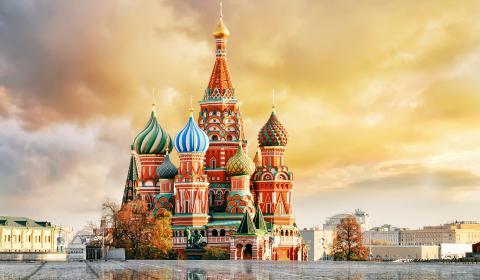 Двете столици: Москва и Санкт Петербург