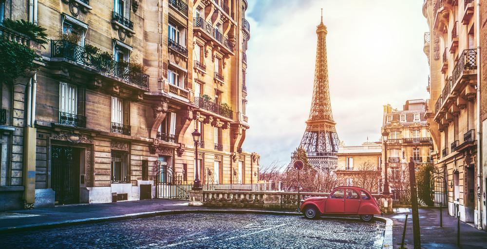 Париж - градът на любовта