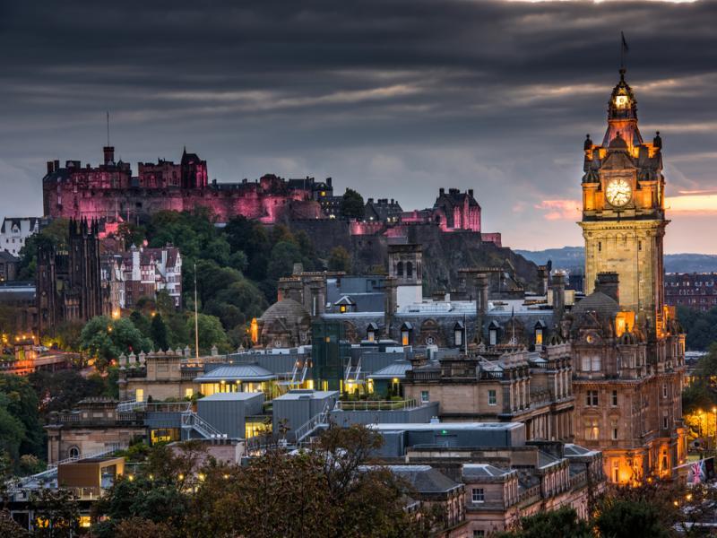Замъка Единбург