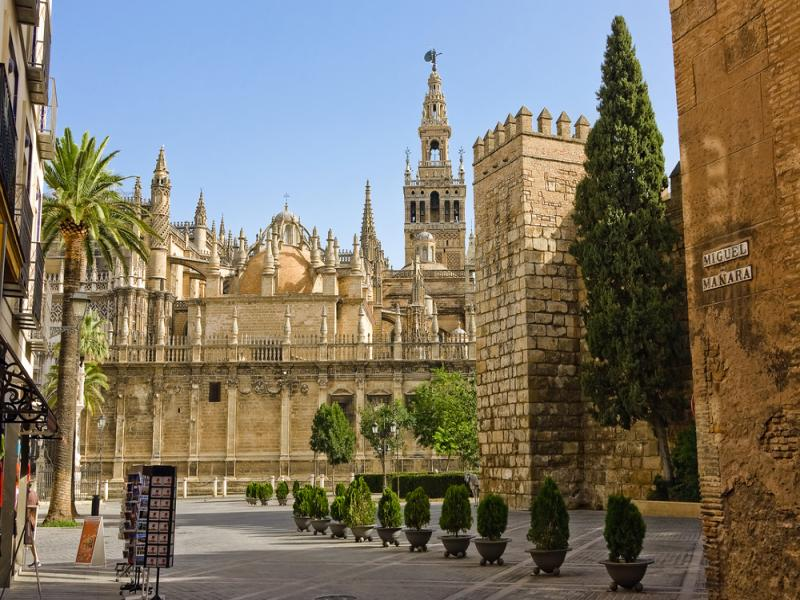 Катедралата в Севиля