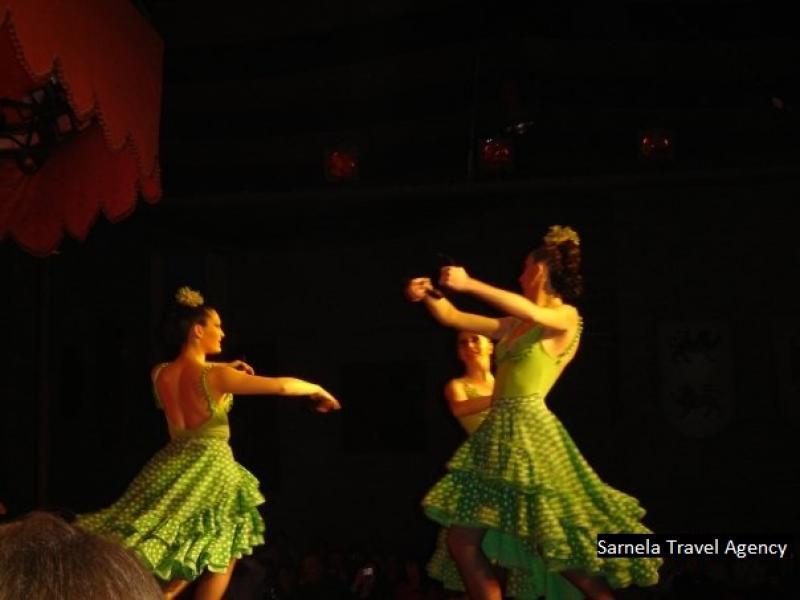 Посещение на Рицарски турнир и спектакъл Фламенко