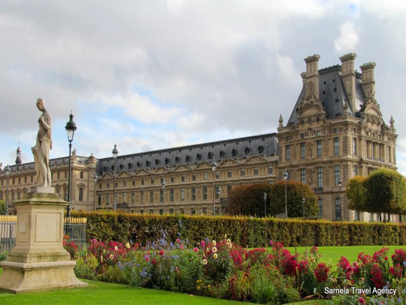 Разглеждане на двореца Версай