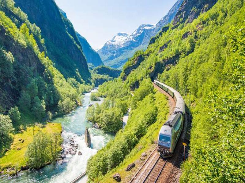 Железница от фиордите до Берген