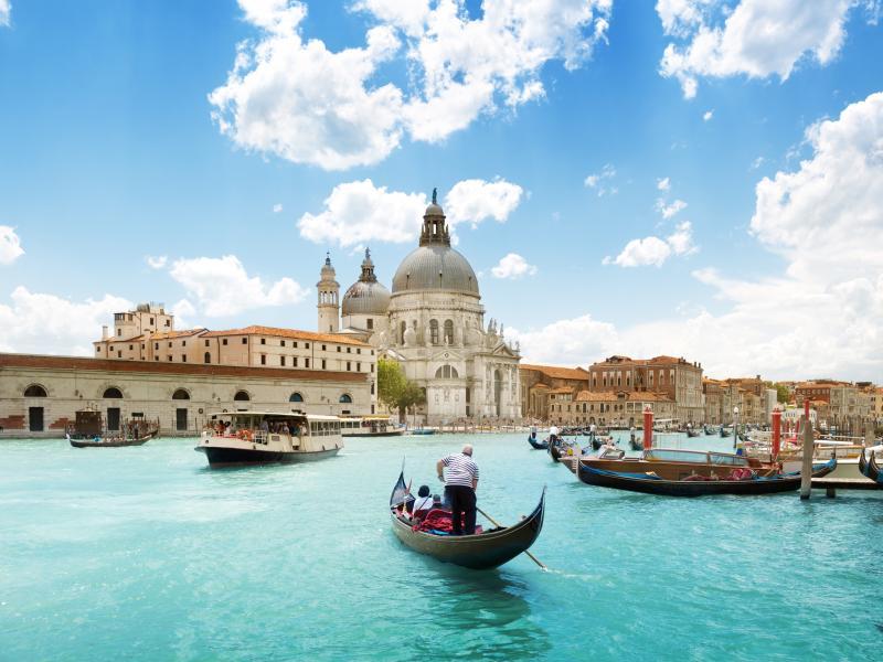 Корабче до Венеция и обратно