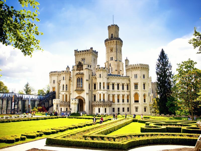 Посещение на замъка Хлубока