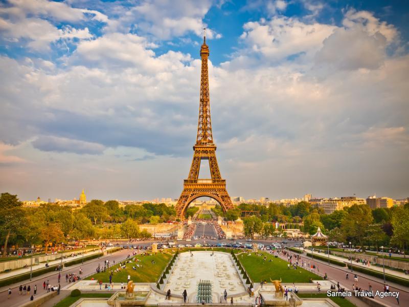 Екскурзия Париж,замъците по Лоара,Дисниленд и Версай 02.04.2018 самолет