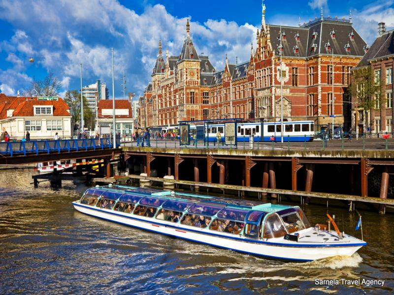 Екскурзия до Антверпен, Амстердам, Париж и Брюксел 29.03.2019