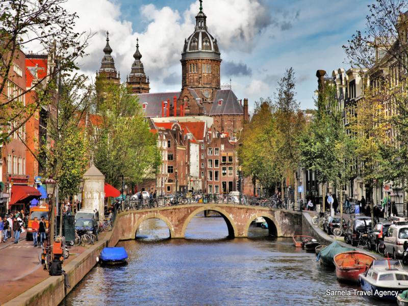 Екскурзия до Лондон, Брюж, Антверпен, Амстердам и Брюксел 12.07.2019