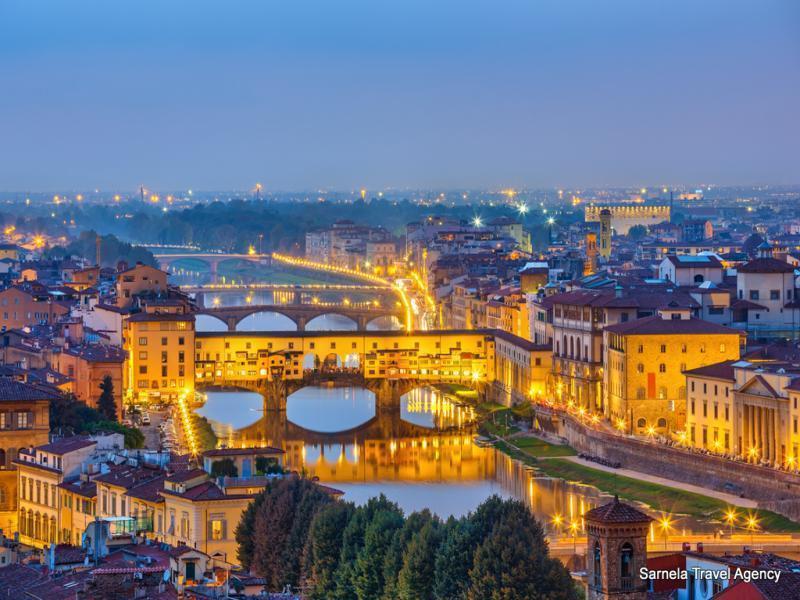 Екскурзия до Верона, Пиза, Флоренция и Венеция  31.10.2019