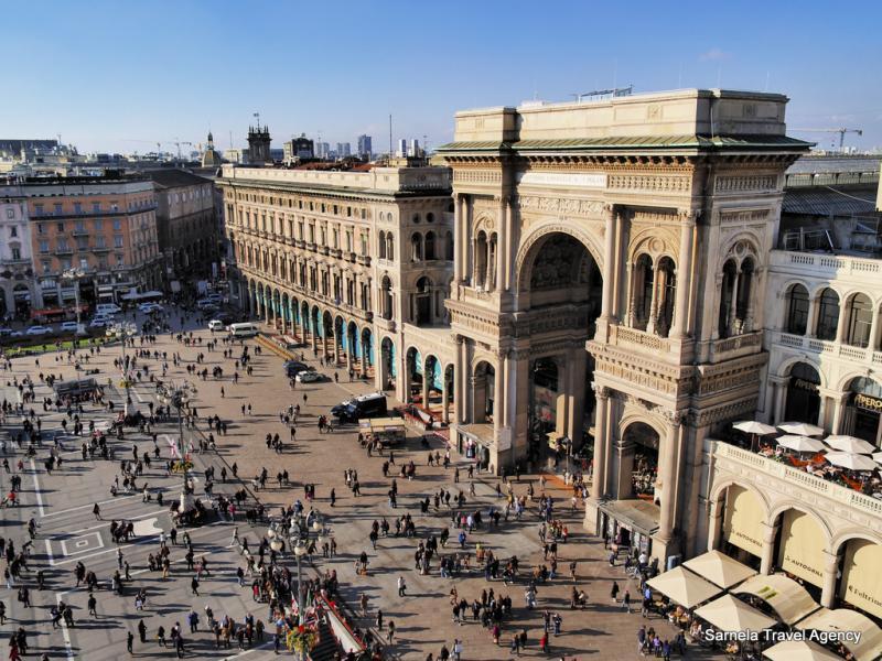 Екскурзия до Милано, Женева, Париж и Брюксел с автобус и самолет 19.03.2020