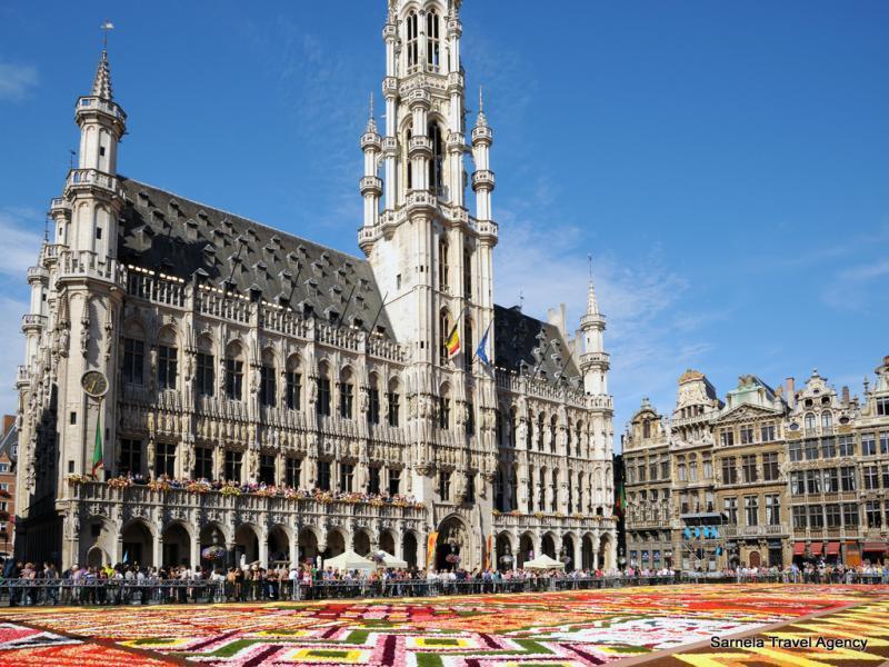 Екскурзия до Брюксел,Брюж, Кукенхоф, Амстердам и Хага 08.05.2020
