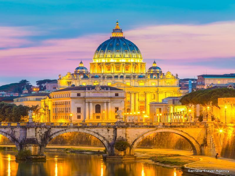 Екскурзия до Рим и Ватикана 3 нощувки 03.04.2020