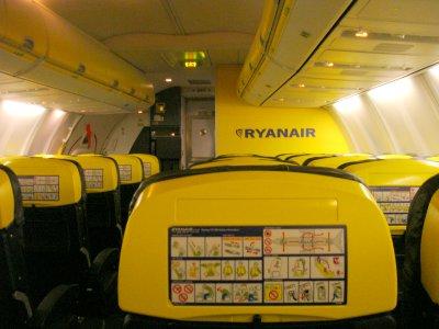 Промяна от 01.11.2018  в политиката на Ryanair, относно безплатен ръчен багаж на борда