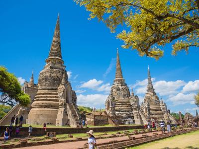 Тайланд – Банкок и древните столици Пролет 2020
