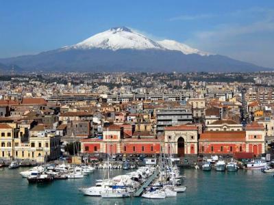 Нова година 2020 в Сицилия, Катания